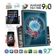 9.7 Android 9.0 Double 2 Din Car Stereo Radio Gps Navi Touch Screen Usb Player