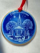 1989 Christmas In America Collection Bing And Grondahl New England Ornament Nos