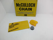 Mcculloch Mini Mac 2.0 110 120 130 165 Chainsaw Air Filter And Cover Yellow