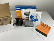 D-link Dp-301u Fast Ethernet Print Server Wired In Box