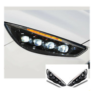 For Ford Focus Led Headlights Led Drl 2015-2018 Replace Oem Halogen Sequential