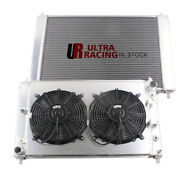 3-row Radiator For 1997-2003 98 Ford Mustang Gt/svt/base V8 4.6l +cooling Fans