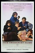 The Breakfast Club ✯ Cinemasterpieces Original Rolled Advance Movie Poster 1985