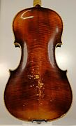 Listen To The Video100+years Fantastic Flamed Old Germany Violin Stainer Model