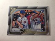Pete Alonso Jacob Degrom Master And Apprentice 2020 Topps Gallery Ma-5 N Y Mets