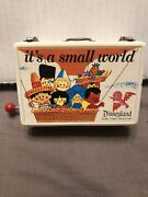 Its A Small World Music Trinket Box Disneyland Japan Disney Tested And Works