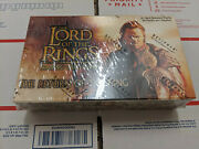 Lotr Lord Of The Rings Tcg - Return Of The King Rotk Booster Box Sealed