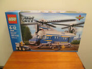 New Lego City Heavy-duty Helicopter Set 4439 Factory Sealed Unopened - Excellent