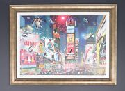 Alexander Chen Embellished Giclee Titled Times Square Parade