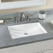 Toto 21 In. Undermount Bathroom Sink With Cefiontect In Cotton White Lt540g01