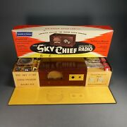 1950and039s The Sky Chief Loud Speaker Radio Kit - Just Unwrapped Christmas Present