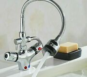 Deck Mounted Contemporary Faucets High Quality Material Solid Ceramic Faucet New