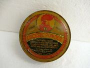 Vintage Cocksec Powder Insecticide Litho Tin Advertising With Powder Japan Oldf