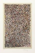 Mark Tobey Stained Glass Lithograph Signed And Numbered In Pencil
