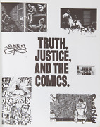 Various Artists Truth Justice And The Comics From Bullet Space Your House Is