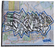 Stash Aka Josh Franklin Subway Map From Bullet Space Your House Is Mine Spr