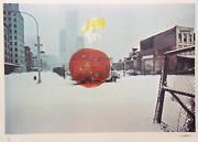 Robert Whitman Untitled Lithograph Signed And Numbered In Pencil