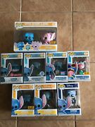 Funko Pop Lilo And Stitch Set Of 6 Pops Scented Hot Topic Exclusive