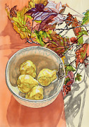 Janet Fish Still Life With Pears Lithograph Signed And Numbered In Pencil