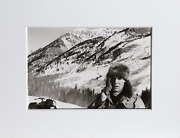 Christopher Makos, In Aspen, Gelatin Silver Print, Signed, Stamped And Numbered