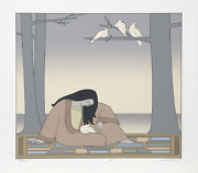 Will Barnet Paean Screenprint On Arches Signed In Pencil