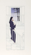 Will Barnet The Cat Screenprint On Arches Signed And Numbered In Pencil