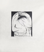 Leonard Baskin The Shout Woodcut Print On Rice Paper Signed And Numbered In P