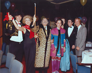 Stanley Einzig, Group I From Salvador Dali's Birthday Party, Color Photograph, S