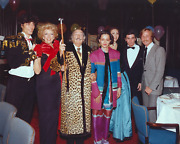 Stanley Einzig, Group Iii From Salvador Dali's Birthday Party, Color Photograph,