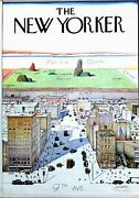Saul Steinberg View From The World From 9th Ave. The New Yorker Poster