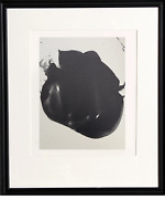 Robert Motherwell, Untitled Ii, Lithograph On Japon With Chine Colle