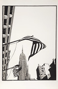 David Preston Something American Woodcut Signed Numbered Dated And Titled