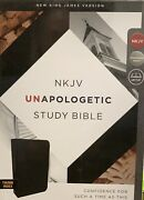 Thomas Nelson Nkjv Unapologetic Bible 2017 Black Bonded Leather Msrp 89.99