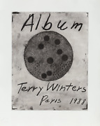 Terry Winters Album - Title Page Etching With Aquatint Signed And Numbered In