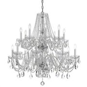 Crystorama Lighting 1139-ch-cl-saq Crystal - Eight Light Chandelier In Classic