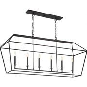 Quoizel Lighting Avy654pn Aviary - 6 Light Large Island - 25.5 Inches High