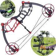 Compound Bow 40-70lbs Short Axis Archery Let Off 80 Rh Lh Bow Hunting Fishing