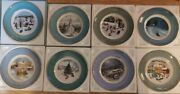 Avon Vintage Christmas Plate Collection 1973-1980