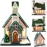 Dept 56 American Heartland Home Town Traditions Mountain View Church Department