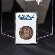 1812 Capped Bust Silver Half Dollar - Certified Ef40 Anacs - Storied Piece