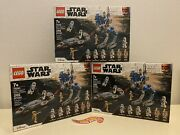 2020 Lego Star Wars 501st Legion Clone Troopers 75280 New Sealed Lot Of 3