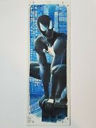 2017 Marvel Premier 4 Panel Sketch Symbiote Spider-man And Spider-woman Fred Ian
