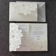 Wedding Invitations Greeting Cards Pearl Paper Shimmering Surface Wedding Favors