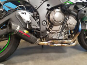 Graves Motorsports Works Zx10r 16-19 Link Low Mount Full Exhaust System Exk-16zx