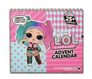Lol Surprise Advent Calendar With Limited Edition Doll And 25+ Surprises