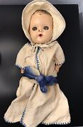 Vintage Antique 1955 Gerber Baby Doll 12 Made By The Sun Rubber Co. And Clothes