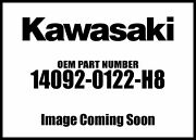 Kawasaki 2011-2012 Concours Cover Side Bag Lh Ebo 14092-0122-h8 New Oem