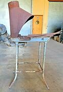 Vintage Blacksmith Forge Champion Blower No. 242 With Tools