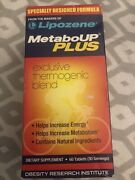 Lipozene Metaboup Plus Diet Supplement 60 Tablets Metabo Up Weight Loss 5/21