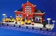 Vintage Lego 2150 Train Station New In Box 1996